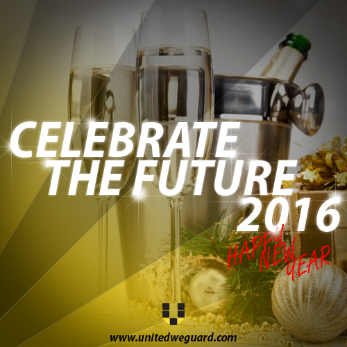Celebrate The Future – Happy New Year 2016