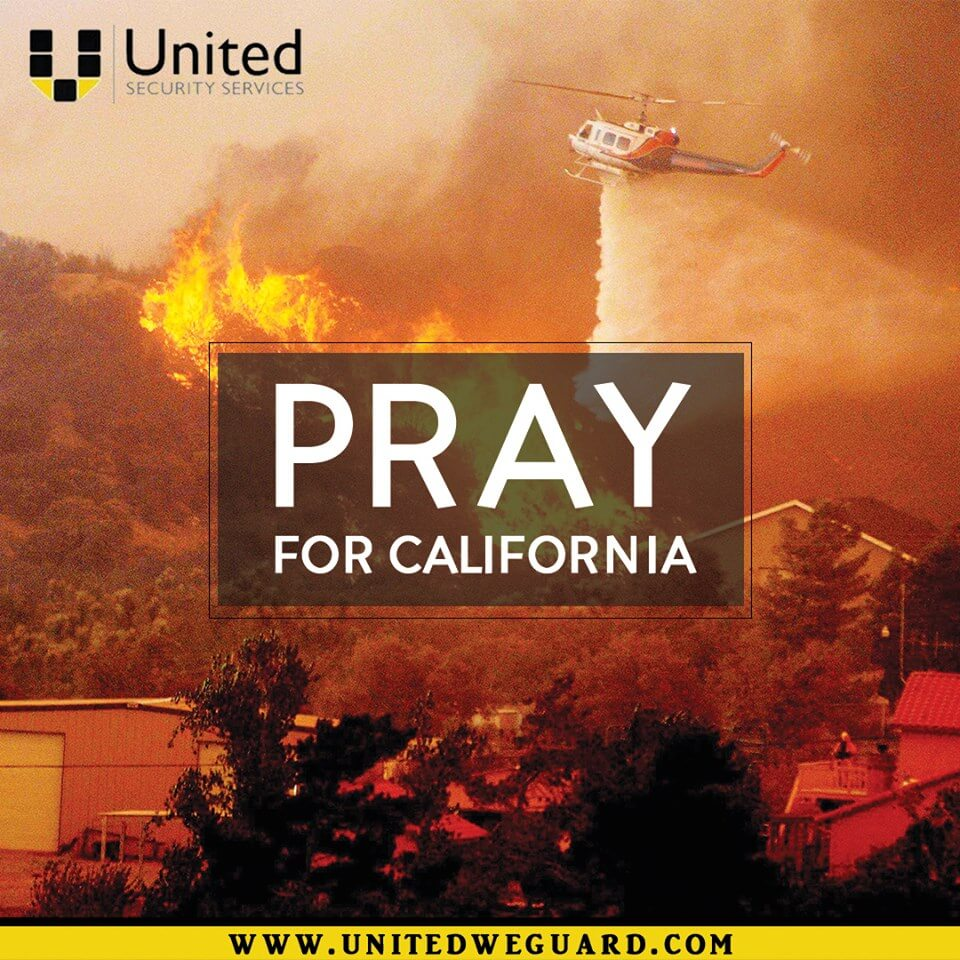 Pray for California