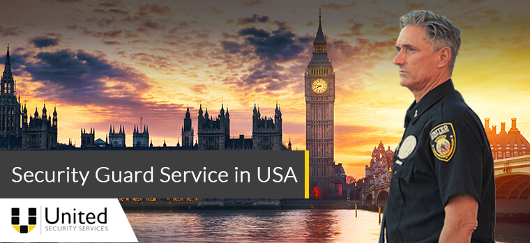 Security guard services in the USA