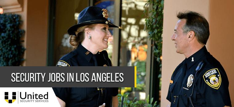 Security Jobs in Los Angeles