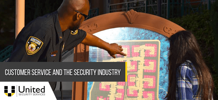 Customer Service and the Security Industry