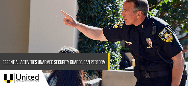 United Security Unarmed Security Guard Services in Los Angeles