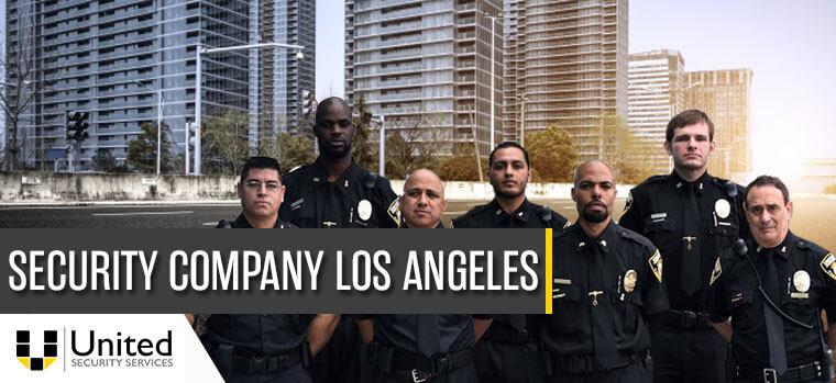 security company Los Angeles