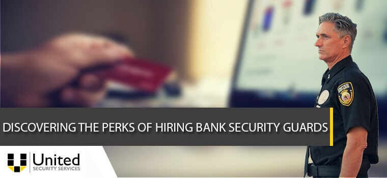 Bank security guards