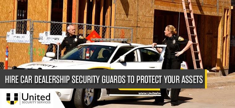 car dealership security guards